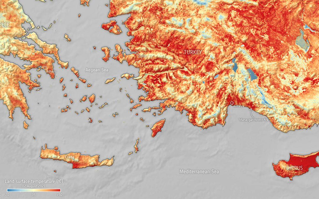 El calentamiento en el Mediterráneo será un 20 por ciento superior a la media mundial