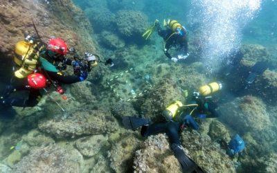 Hallan 53 monedas de oro de los siglos IV y V en el fondo marino del Portitxol de Xàbia