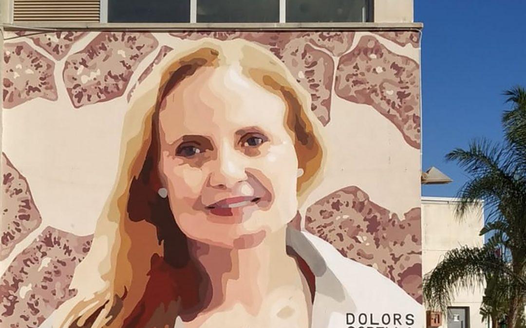 Mural de Dolores Corella en la UPV