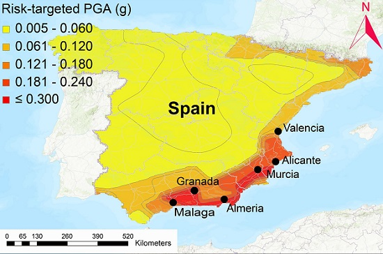 Una investigación liderada por la Universidad de Alicante determina el riesgo de colapso debido a terremotos de las edificaciones actuales